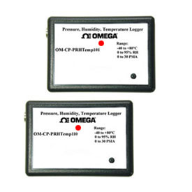 Pressure, Temperature and Humidity Dataloggers Part of the NOMAD®Family | OM-CP-PRHTEMP101 and OM-CP-PRHTEMP110