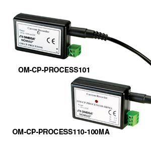 단종 - 4 ~20 mA Current Data Loggers | OM-CP-PROCESS101 & OM-CP-PROCESS110