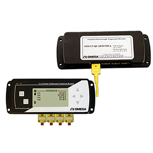 4 Channel Thermocouple Data Logger, Part of the NOMAD® Family | OM-CP-QUADTEMP-A and OM-CP-QUADTEMP2000