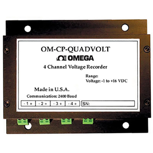4 Channel Voltage Data Logger Part of the NOMAD® Family | OM-CP-QUADVOLT