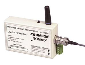 Wireless pH and Temperature Transmitter | OM-CP-RFPH101A