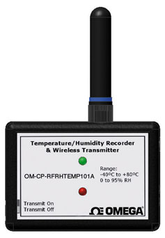 Wireless Humidity and Temperature Transmitter Part of the NOMAD® Family | OM-CP-RFRHTEMP101A