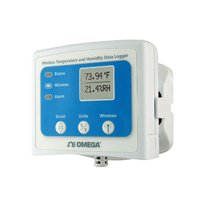 Wireless Temperature and Humidity Data Logger with Display | OM-CP-RFRHTEMP2000A