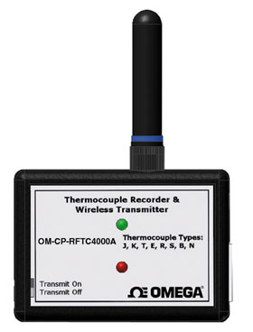 Wireless Thermocouple Temperature Transmitter Part of the NOMAD® Family | OM-CP-RFTC4000A
