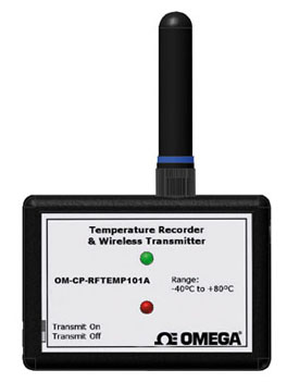 Wireless Temperature TransmitterPart of the NOMAD®Family | OM-CP-RFTEMP101A