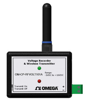 Wireless Low Level Voltage Transmitter Part of the NOMAD® Family | OM-CP-RFVOLT101A