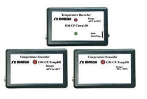 Temperature DataloggersPart of the NOMAD® Family | OM-CP-TEMP100, OM-CP-TEMP101 and OM-CP-TEMP110