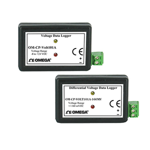 Voltage Data Loggers, Part of the NOMAD® Family | OM-CP-VOLT101A