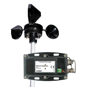 Wind Speed Data Logger | OM-CP-WIND101A-KIT Series