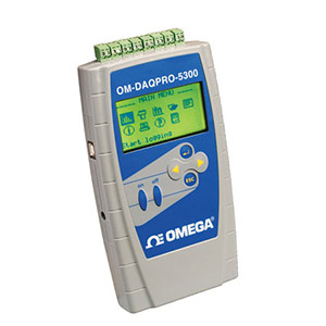 Portable Handheld Data Logger | OM-DAQPRO-5300