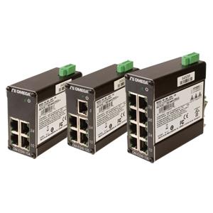 Unmanaged Industrial Ethernet Switches | OM-ESW-104, OM-ESW-105 and OM-ESW-108