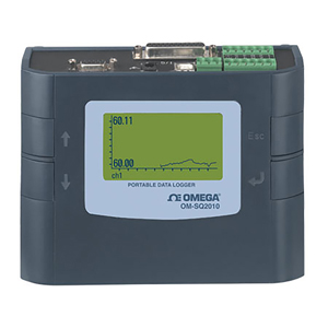 Portable Data Logger with 4 to 8 Universal Inputs | OM-SQ2010