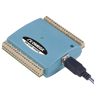 8-Channel Simultaneous Analog Input USB Data Acquisition Modules | OM-USB-1608FS_Series