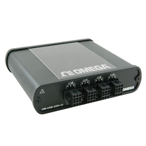 4-Channel Universal Analog Input USB Data Acquisition Module   OM-USB-2404-UI