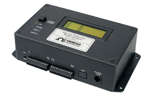 OMEGAPHONE Alarm Dialer Eight Zone Temperature with Optional Ethernet Data Collection | OMA-VM500-7
