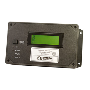 OMEGAPHONE Temperature Alarm Dialer Four-Zone Thermocouple Input with Optional Ethernet Data Collection | OMA-VM520