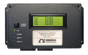 OMEGAPHONE Alarm Dialer Four Temperature Channels Plus Four Powered Inputs with Optional Ethernet Data Collection | OMA-VM540 and OMA-VM541