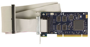 Low Profile PCI 24-Channel TTL I/O Board | OMG-PIO-24-LPCI and OMG-PIO-24-PCI