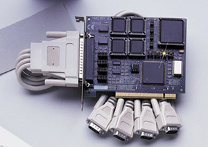 Automatic Four Port PCI RS-422/485 Interface   OMG-ULTRACOMM422-PCI Series