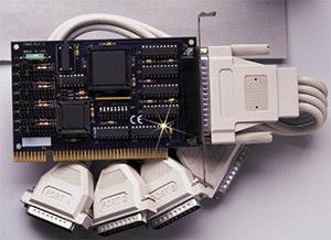 Four Port ISA RS-232 Interface   OMG-VERSACOMM4-EX-DB25 Series