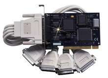 Four Port PCI RS-232 Interface forDOS and Windows 3.1x/95/98/ME/NT/2000/XP | OMG-VERSACOMM4-PCI Series