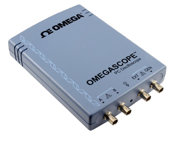 High Performance USB-Powered Oscilloscopes | OMSP-3204, OMSP-3205 and OMSP-3206