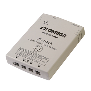 4-Channel RTD Input Data Acquisition Module with USB or Ethernet Interface | PT-104A