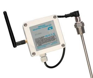 Transmisores de temperatura inalámbrico resistentes a las condiciones climáticas para RTD de Pt100 | UWRTD-2-NEMA