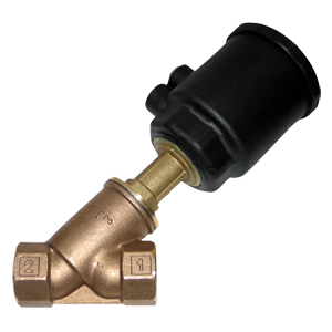 Air-Actuated Valve, Bronze, Normally Closed, Bi-Directional | AAV-1000B