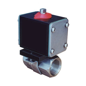 Pneumatic and Electric Actuated Ball Valves | Omega Engineering | BVP80 Series