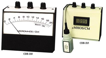COMPACT CONDUCTIVITY BENCHTOPS | CDB-210 CDB-215