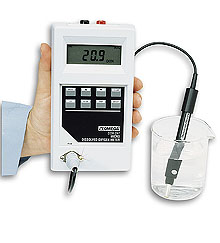Splashproof, Portable Dissolved Oxygen Meter | DOH-247-KIT