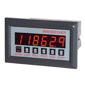 1/8 DIN 배치 컨트롤러 - 증폭된 주파수 입력 | DPF11