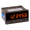 Panel Meter Multiple Frequency or Pulse Inputs 1/8 DIN