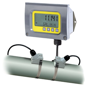 Clamp-On Ultrasonic Energy Flowmeter