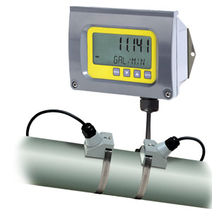 Clamp-On Ultrasonic Flow for Liquids