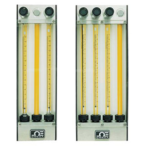 Multi-tube Rotameters/Gas Proportioning Rotameters | FL-1,2,3,4,5,6,7,8GP