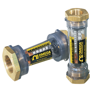 In-line Flow Meters for Use with Water and Air | Omega Engineering | FL-500