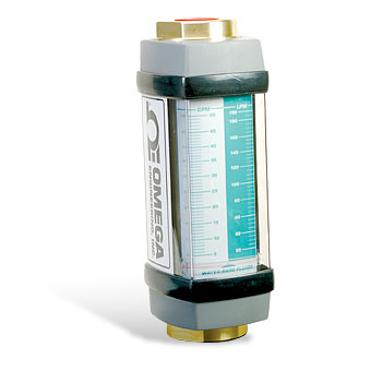 Large Capacity In-line Flowmeters - Capacities: 3 to 150 GPM of Water/3 to 150 GPM of Oil | FL-8100A and FL-8300A