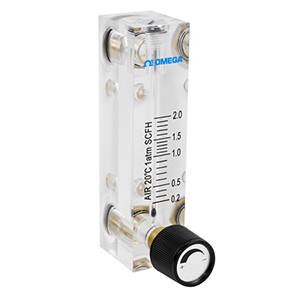 Acrylic Variable Area Flow Meters For Air or Water | FLK-2000-SERIES