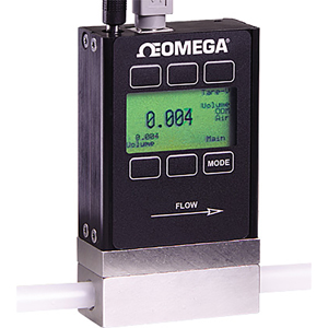 FMA 1600 Mass and Volumetric Omega Flow Meters | 20+ Gas Selection | FMA-1600A