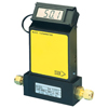 Economical Gas Mass Flow Meters for Clean Gases with Optional Integral Display