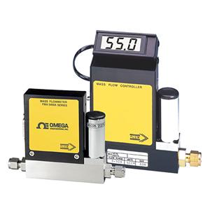 マスフローコントローラ、10 SCCM〜100 SLM | OMEGA | FMA5400A / 5500A