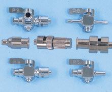 NICKEL-PLATED BRASSLUER FITTINGS, ADAPTORS and MANIFOLDS | FT-6000 Series