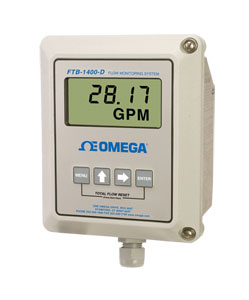 Flow Monitor Digital Displays FOR FTB-1400 SERIES TURBINES | FTB-1400-D