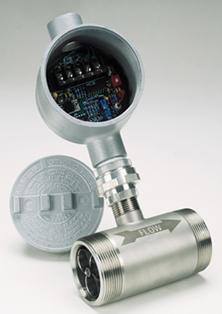 경제적인 볼-베어링액체 터빈 유량계수형 NPT 포트 장착 | FTB-900 시리즈