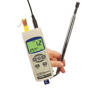 Hot Wire Anemometer with Real Time Data Logger | HHF-SD1