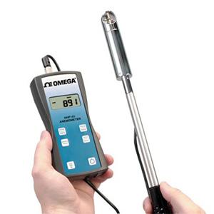 Anemometer - Handheld Rotating Vane Anemometer OMEGA Engineering | HHF141