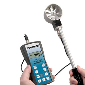 High Accuracy Handheld Rotating Vane Anemometer | HHF142