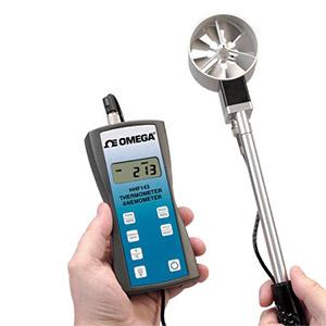 Handheld Rotating Vane Anemometer | HHF143 Series
